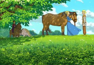 The Golden Horse / Zelta zirgs