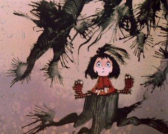 Die kleine Hexe / Malá čarodějnice